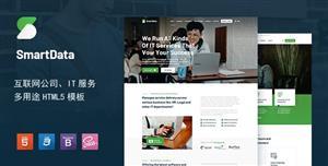 大氣多功能互聯網科技企業網站模板
