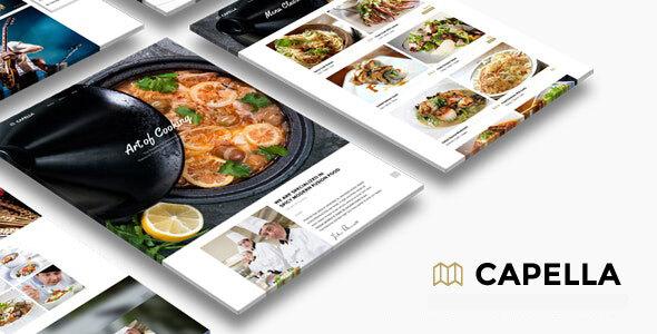 多用途餐厅美食外卖网站模板