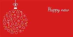 gsap.js+svg特效创意圣诞快乐网页代码