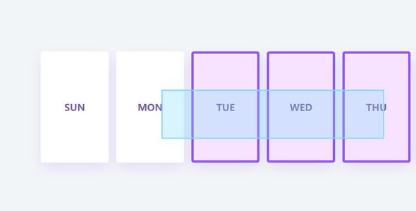 JavaScript鼠标拖拽框选