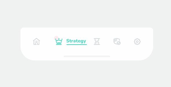 js+svg动画效果tab菜单栏