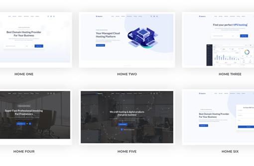 多用途业务介绍着陆页HTML模板