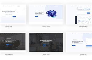 多用途業務介紹著陸頁HTML模板