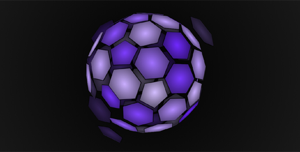 css代码绘制的3D网状球动画特效源码下载