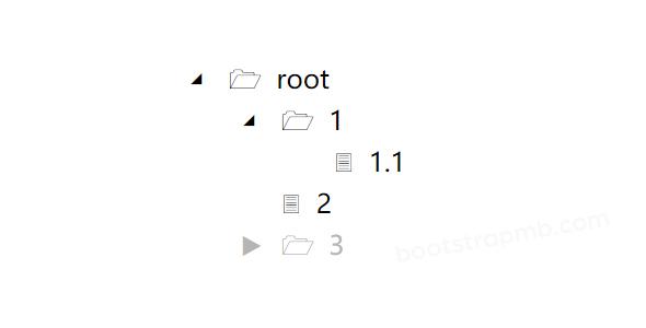 文件夹树菜单js插件源码下载