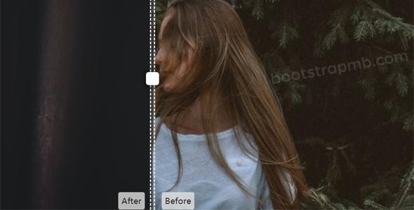 两张图片拖拽比较插件iMatch.js源码下载