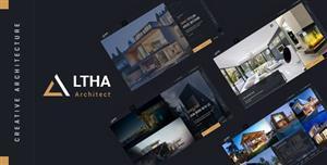创意炫酷建筑室内设计网站模板
