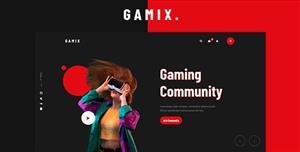 電子競技HTML5游戲網站模板