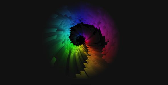 很酷的h5旋转隧道动画特效代码源码下载