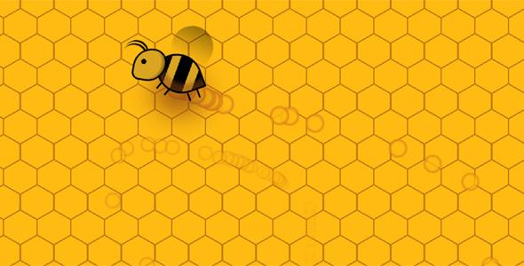 js css3蜜蜂光标样式特效代码
