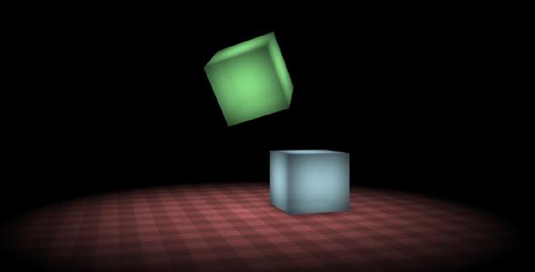 CSS3方块弹跳网页动画特效源码下载