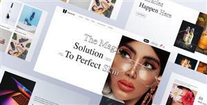 时尚感UI设计电商网页HTML5模板