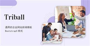 bootstrap5樣式商務型企業網站模板