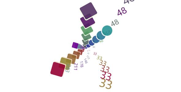 AngularJS & CSS3 炫酷3D时钟特效代码源码下载