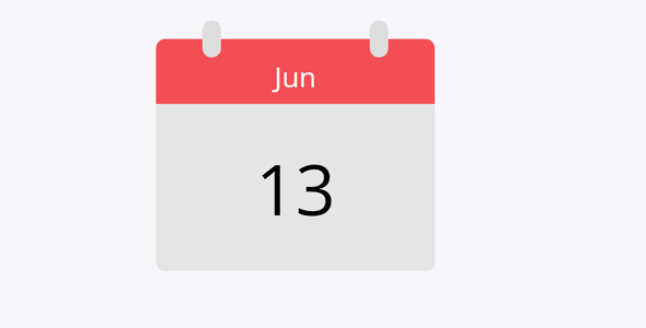 Angular Js简单的日历插件