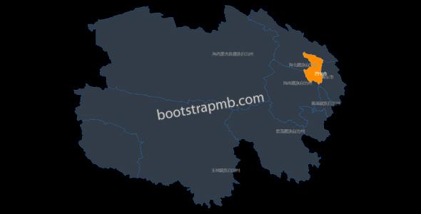 青海地图js htlm代码