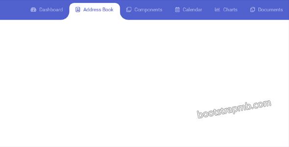 bootstrap4滑动效果顶部导航菜单源码下载