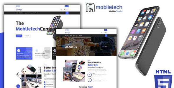 手机品牌官网购物商店HTML5模板源码下载