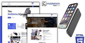 手机品牌官网购物商店HTML5模板