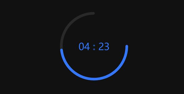 电子时钟带倒计时js特效代码