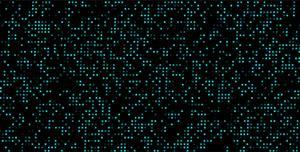 HTML5 Canvas蓝色粒子闪烁动画