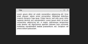 可拖拽的对话框js插件