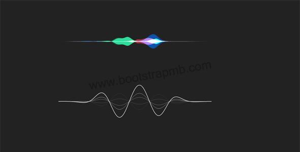 Audio音频波浪动画js插件源码下载