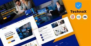 IT信息技术服务企业网站模板