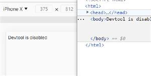 JavaScript网页保护禁止F12