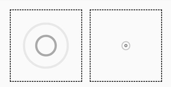 圆圈扩散波纹css动画特效源码下载