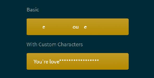 文本动画加载特效letterloading.js