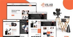 摄像机制造HTML5企业网站模板