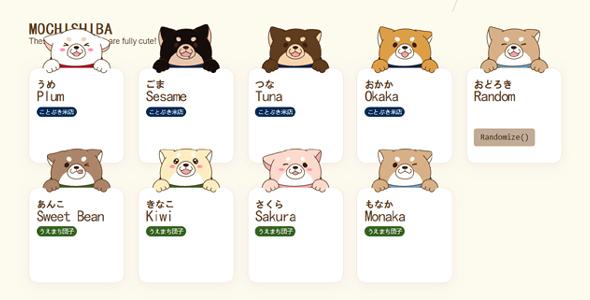 vuejs可爱动物卡片样式动画特效