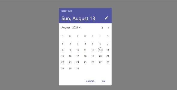 Android样式日期选择插件