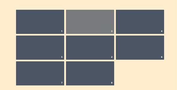 JavaScript拖拽排序源码下载