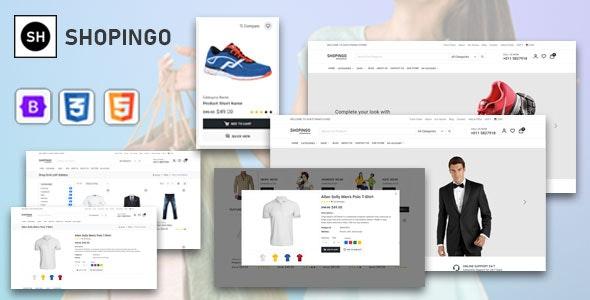 电子商务UI前端模板Bootstrap5框架