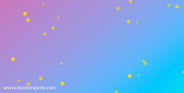 CSS3圆点闪烁网页背景动效