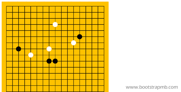 JavaScript五子棋小游戏代码