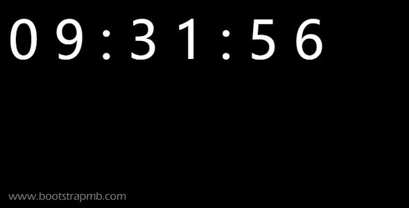 最简单的动态时间js代码