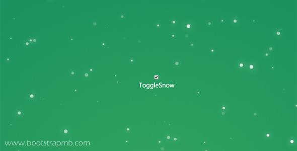 网页下雪js动画特效