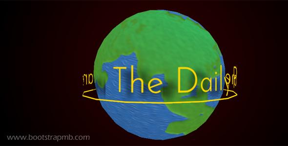 纯CSS3实现3D旋转地球特效