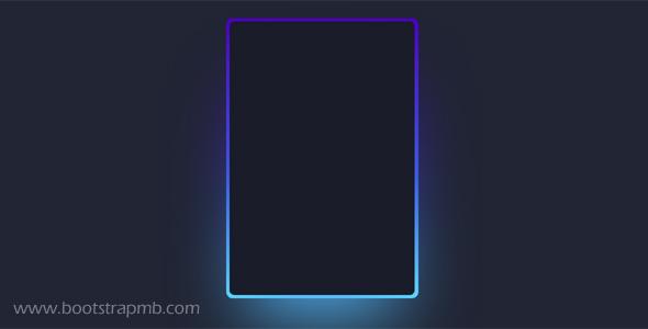 边框发光CSS特效