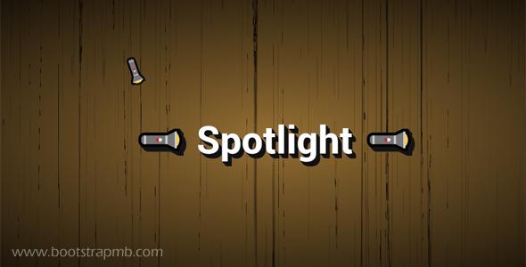 手电筒光线阴影Js特效